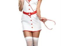 Hemşire kostümü ile fantazi